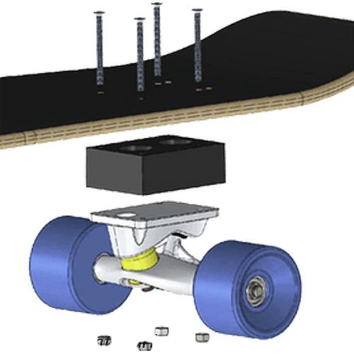 yow surfskate montaje