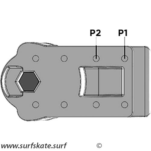 yow surfskate montaje system pack
