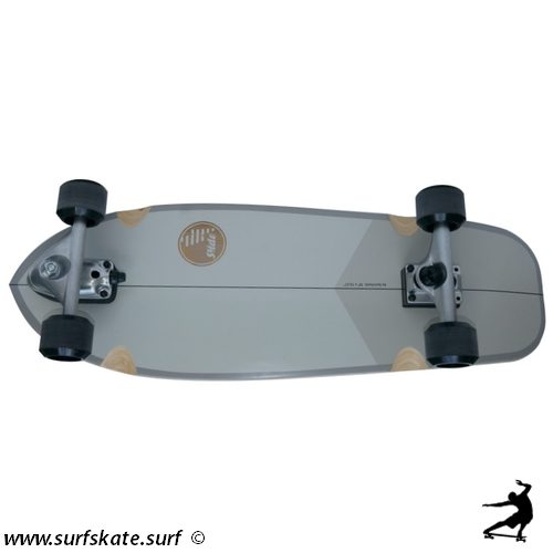 Surfskate slide JOYFUL SILVER 30""