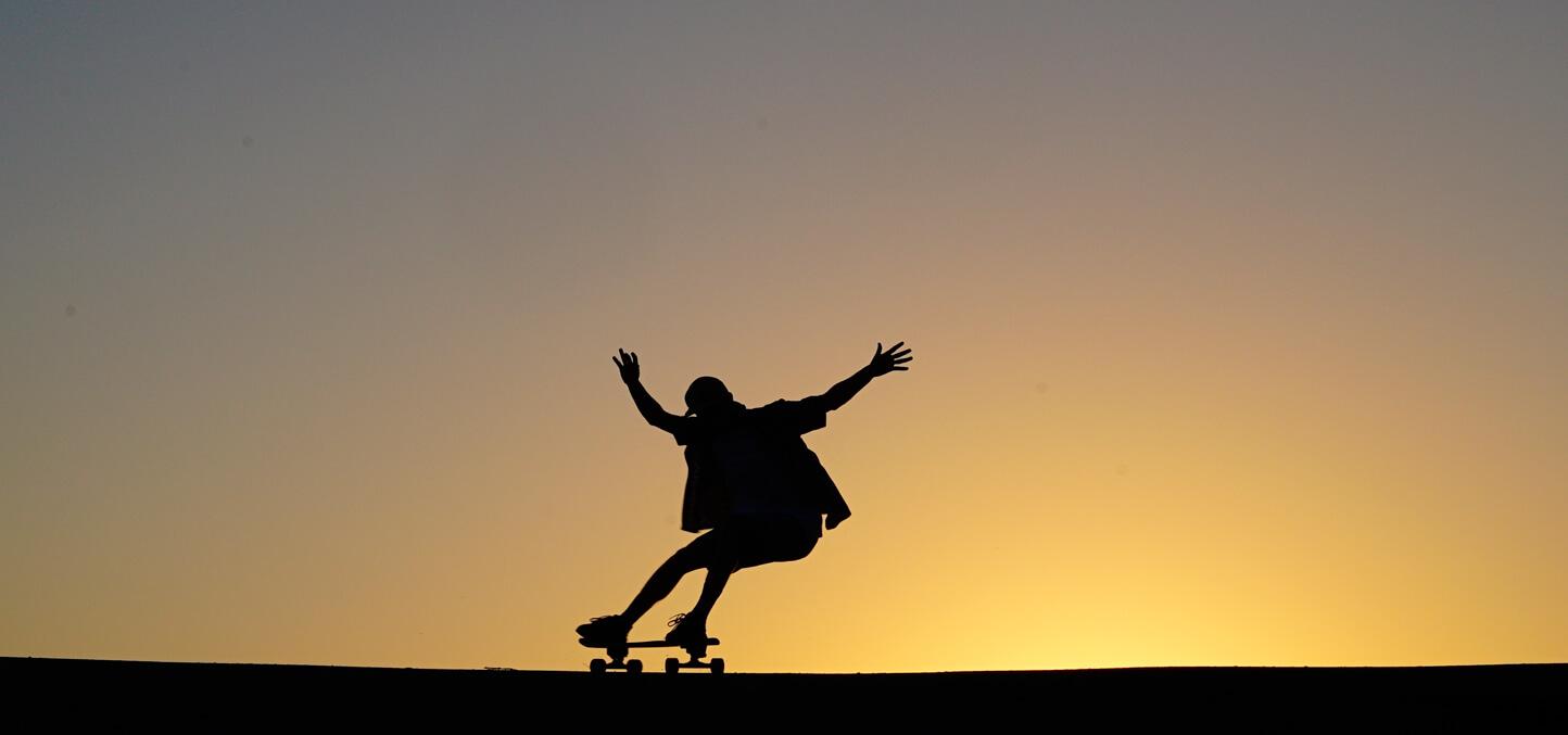 yow surfskate silueta