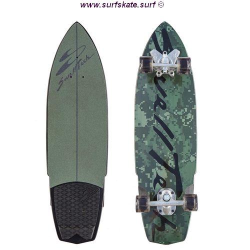 surfskate swelltech hybrid camo