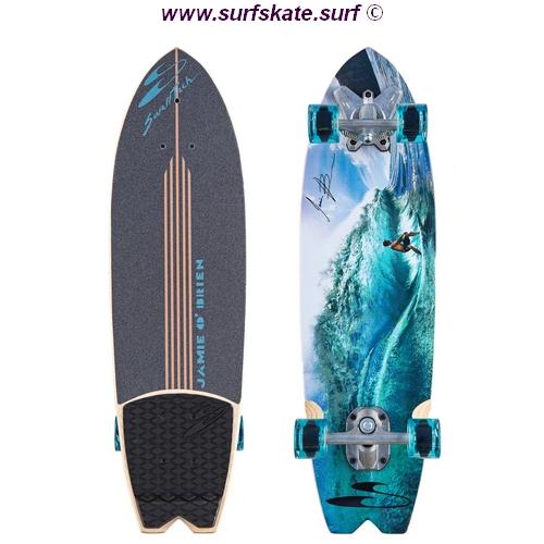 surfskate de la marca swell tech modelo JOB teahupo
