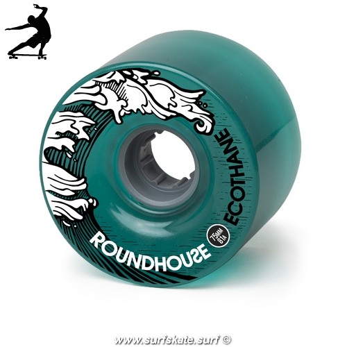 Ruedas Surfskate Carver Eco-Mag - 75mm 81A Aqua