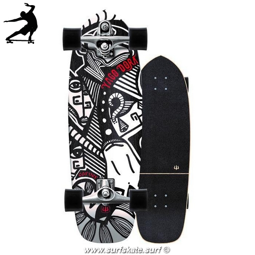 "Surfskate Carver Skinny Goat 30.75"""