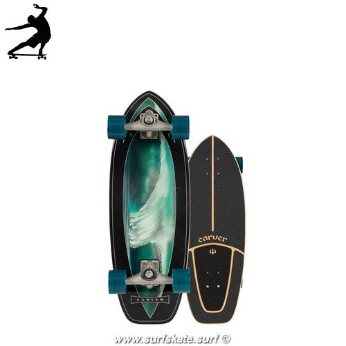"""Surfskate Carver Super Snapper 28"""" cx"""