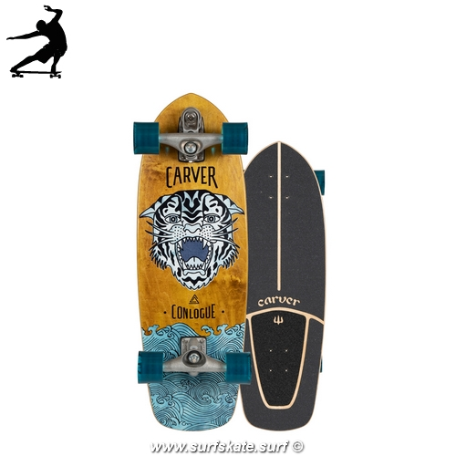 "Surfskate Carver Sea Tiger 29,5"" Courtney Conlogue"