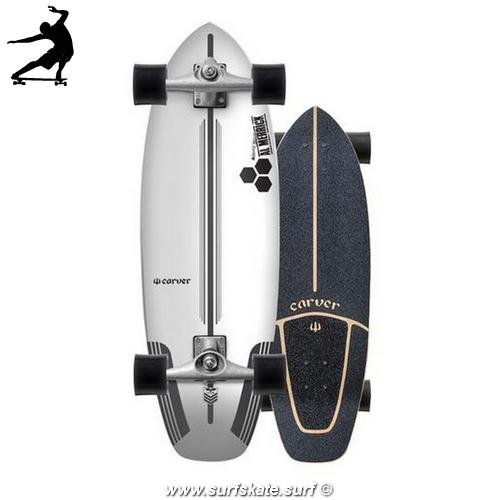"Surfskate Carver CI Flyer 30.75"" cx"