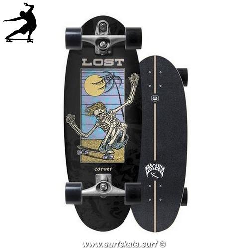 "Surfskate Carver Lost Beanbag 28"" c7"