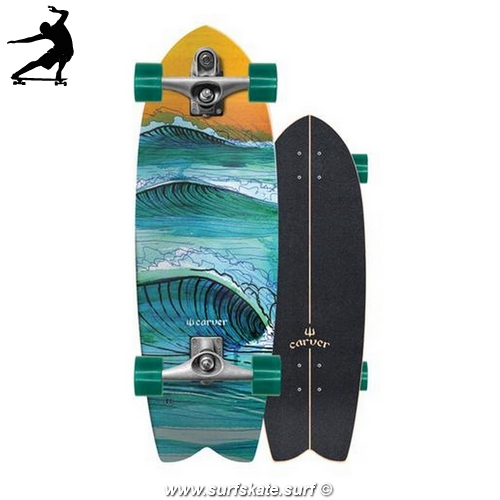 "Surfskate Carver skateboards Swallow 29"" CX"
