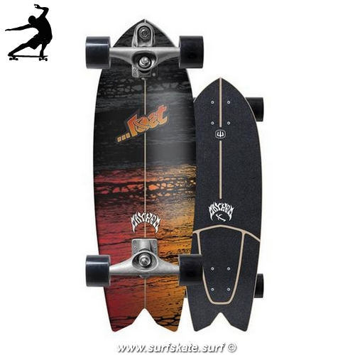 Surfskate Carver Lost Psycho Killer 29""