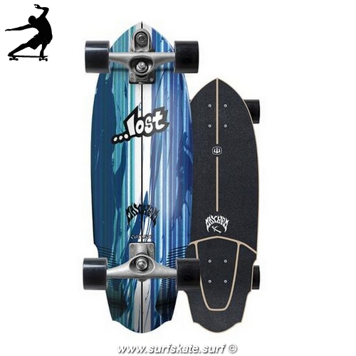 "Surfskate Carver Lost V3 Rocket 30"" c7"
