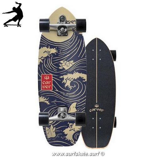 """surfskate carver snapper 28"""" c7"""