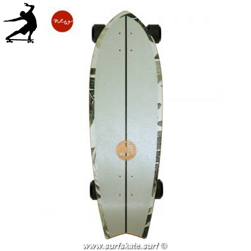 Surfskate Slide Fish Pavones 32""