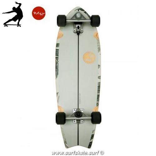 """Surfskate Slide Fish Pavones 32"""" bottom"""
