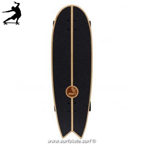 "Surfskate Slide Swallow Noserider 33"" top"