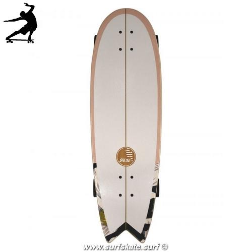 """Surfskate Slide Swallow Wahine 33"""" top"""