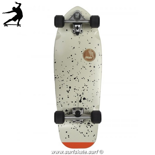 surfskate slide joyful splatter