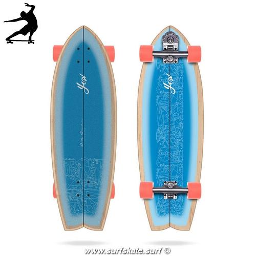"Surfskate Yow Aritz Aranburu Pro Model 30,5"""