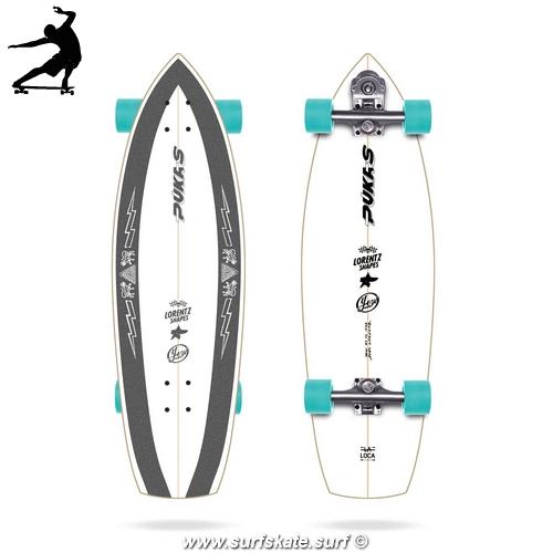 "Surfskate Yow Pukas La Loca 31,5"""