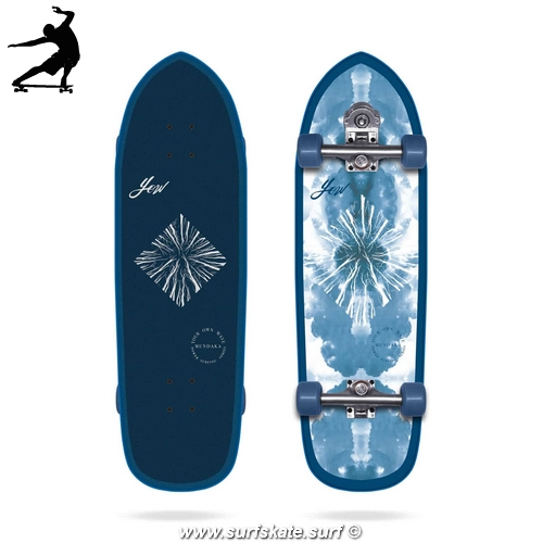 "Surfskate Yow Mundaka 32"" Power Surfing Series"