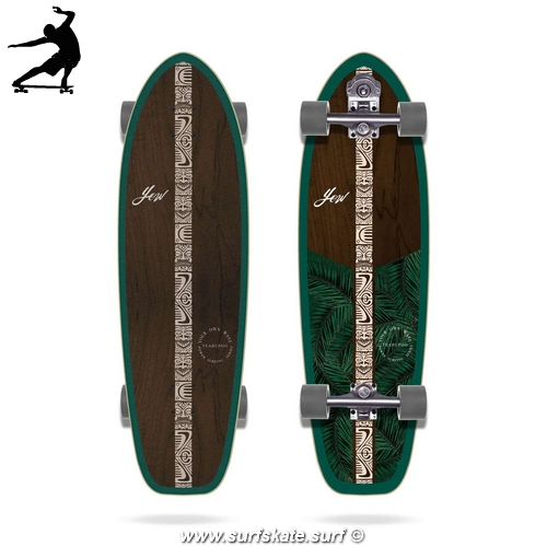 Surfskate Yow Teahupoo Power Surfing Series 34""