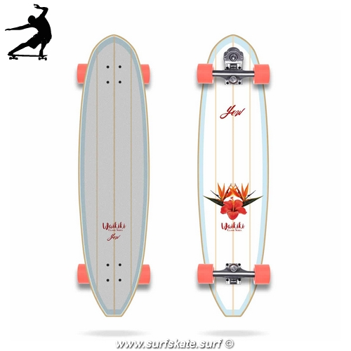"""Surfskate Yow Waikiki 40"""" Classic Series"""