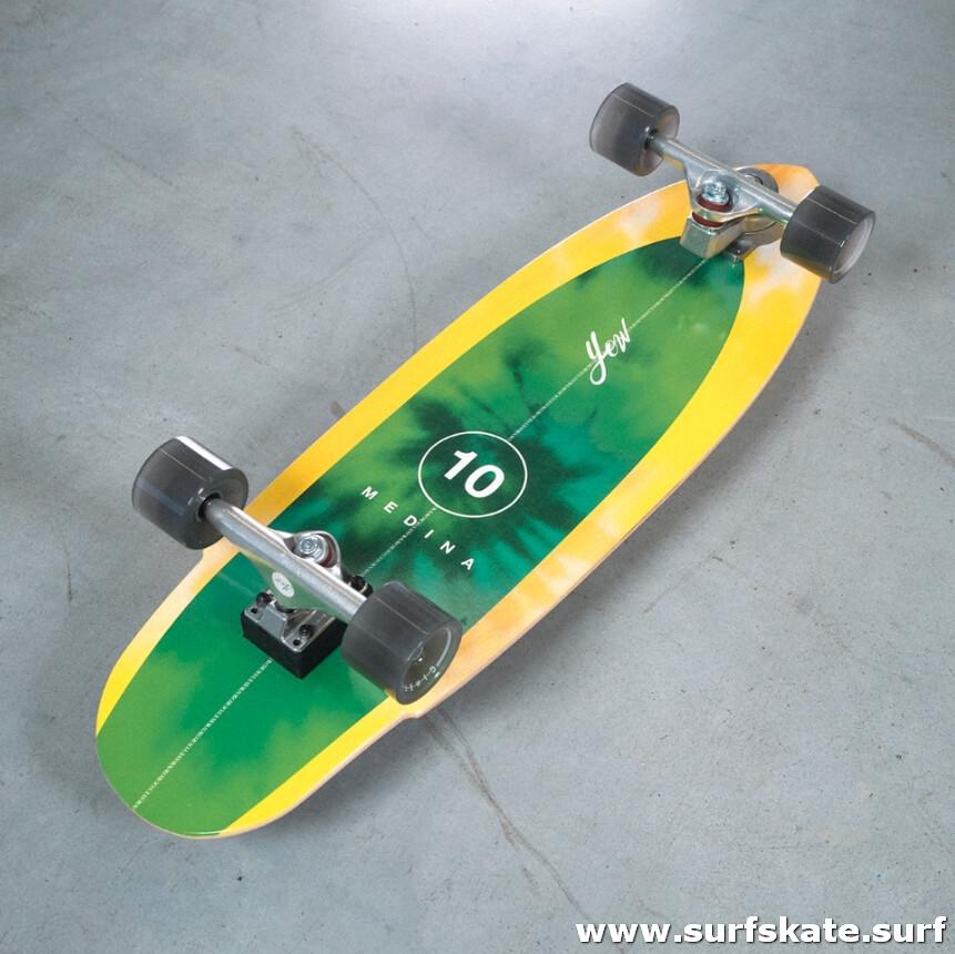skate de surf con nuevo sistema de ejes yow meraki