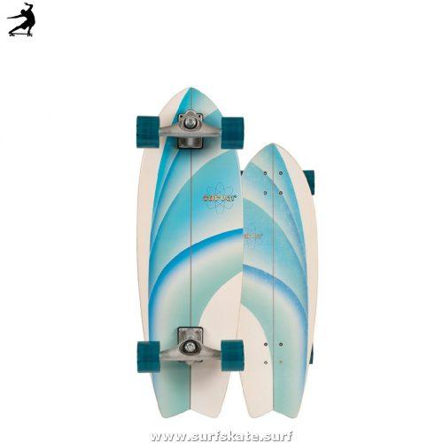 "SurfSkate Carver 30"" Emerald Peak Con Ejes Cx"