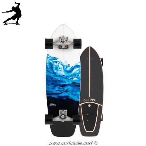 "Surfskate Carver Resin 31"" cx"